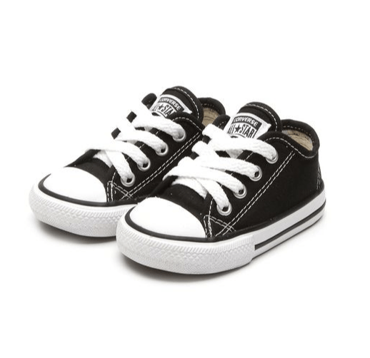 TÊNIS CONVERSE CHUCK TAYLOR ALL STAR LOW BABY PRETO