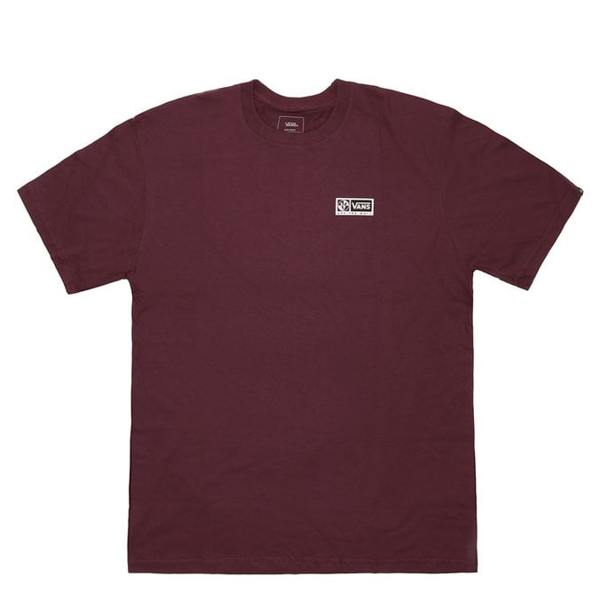 CAMISETA VANS CROSSPOINT PRUNE