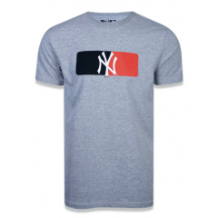 CAMISETA NEW ERA YANKEES CINZA
